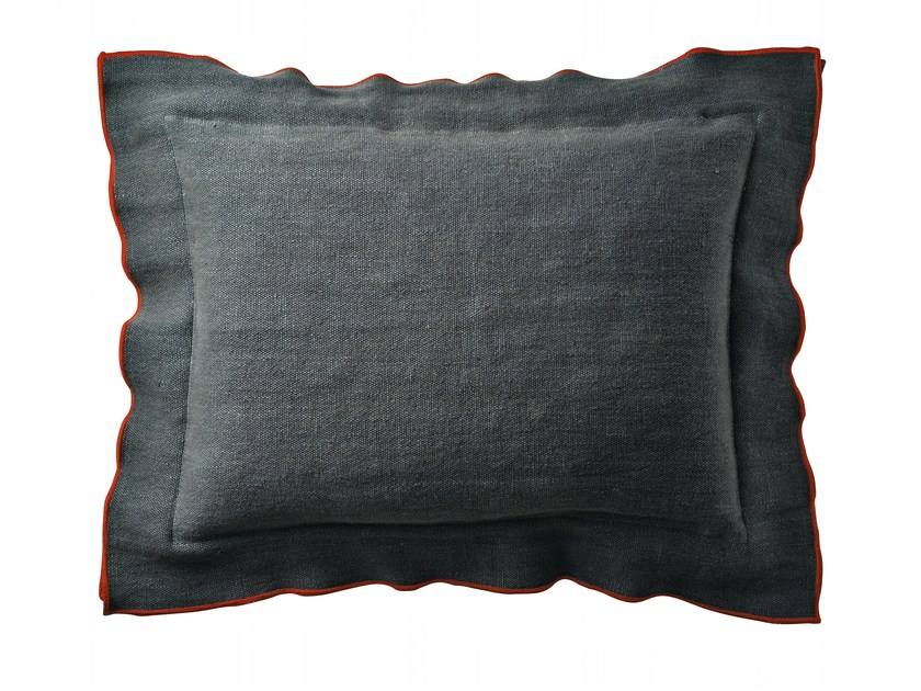 Fabric cushion with removable cover ROMANCE - Zanotta