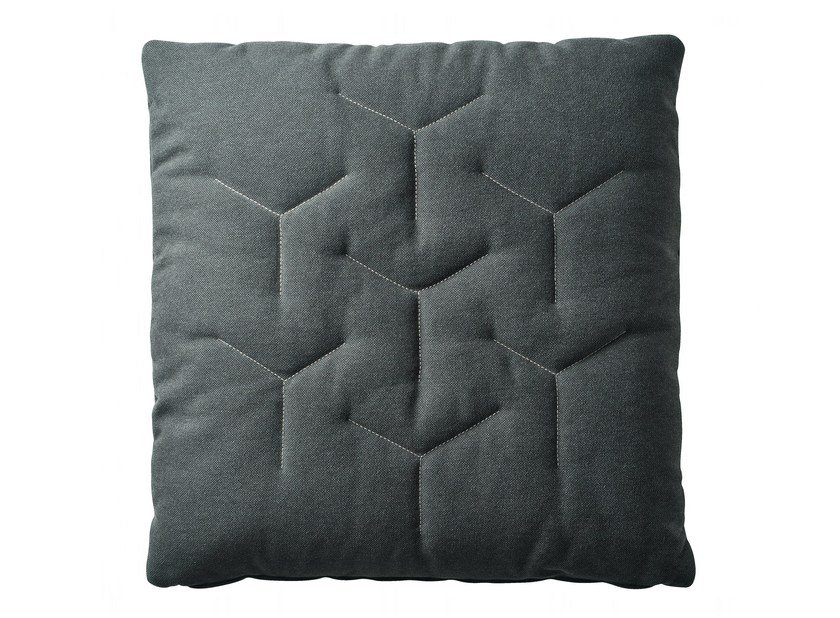 Fabric cushion with removable cover GRU COTONE - Zanotta