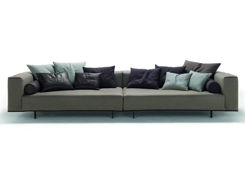 Sofa with removable cover ZEROCENTO ZIP by Désirée divani