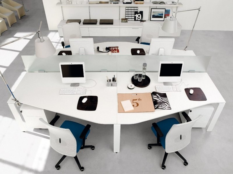 Multiple office workstation WORKING | Multiple office workstation - Zalf