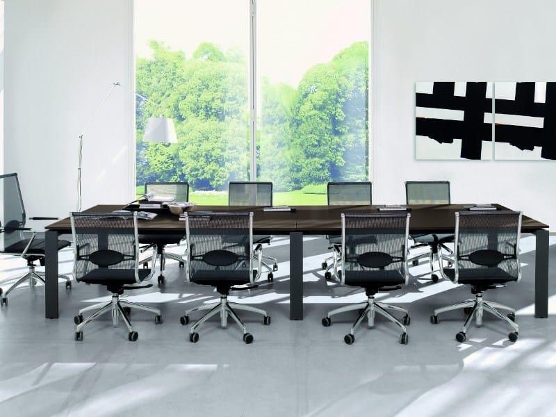 Rectangular meeting table MEETING | Meeting table - Zalf