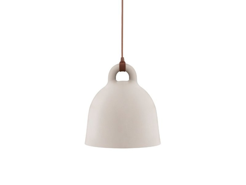 Direct light steel pendant lamp BELL by Normann Copenhagen