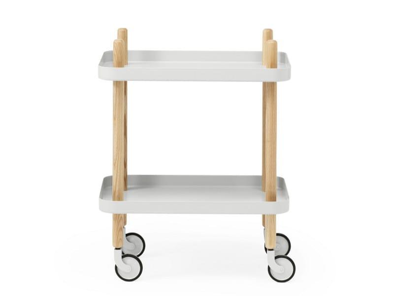Servierwagen aus Holz BLOCK by Normann Copenhagen Design Simon Legald