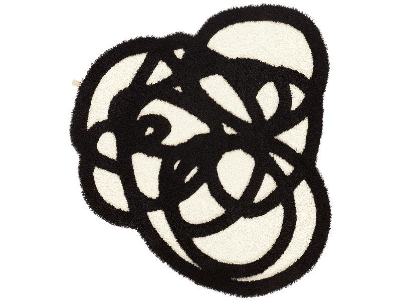 Patterned wool rug DOODLE by Kasthall