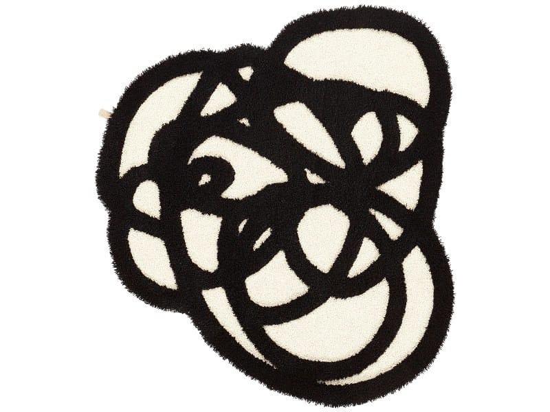 Patterned wool rug DOODLE - Kasthall