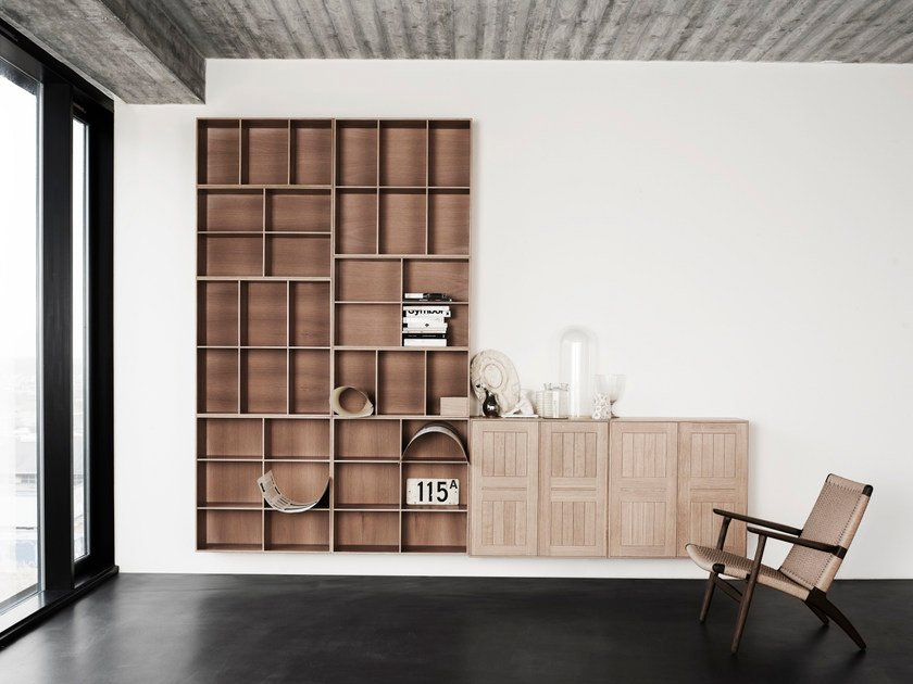 Sectional bookcase SHELVING SYSTEM - Carl Hansen & Søn