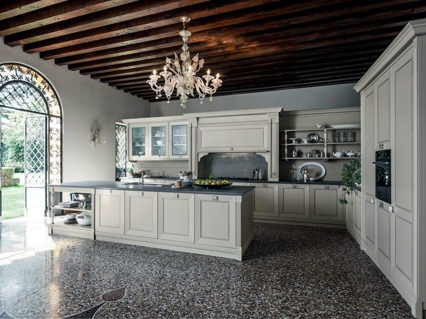 Classic style lacquered wooden kitchen ETOILE - COMPOSITION 3 - Cesar Arredamenti