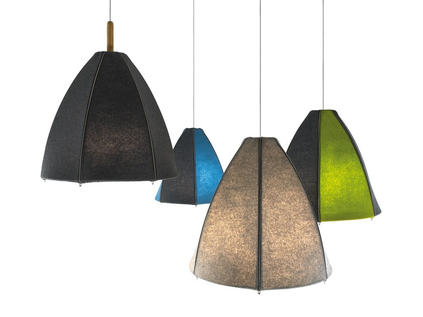 Wool pendant lamp NORR | Pendant lamp by arturo alvarez