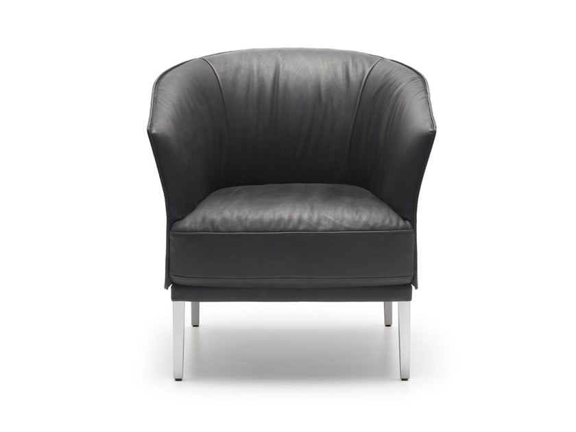 Upholstered leather armchair DS-291   Armchair - de Sede