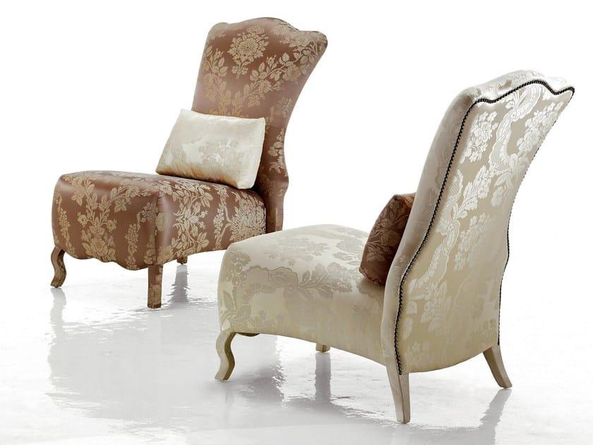 Upholstered armchair MAXIMIEN - Sicis
