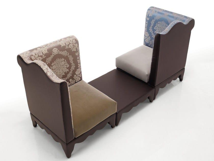 Modular armchair MOISE | Armchair - Sicis