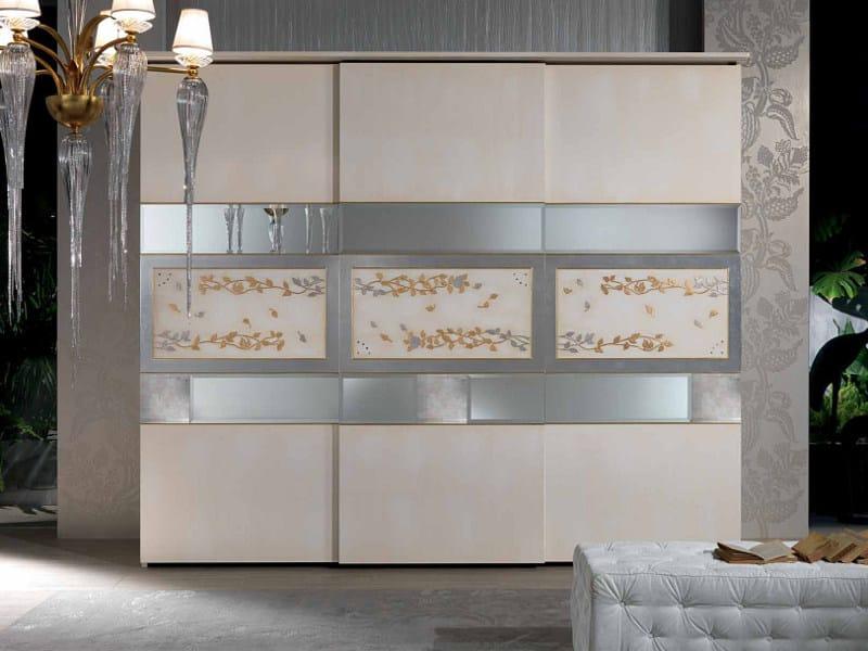 Lacquered wardrobe with sliding doors BLANCA   Wardrobe - Carpanelli Classic