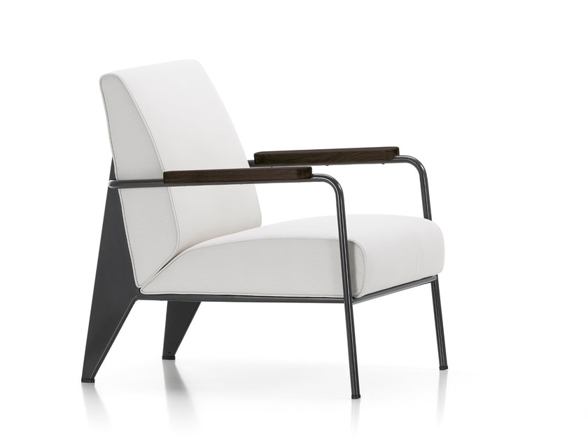 Upholstered armchair with armrests FAUTEUIL DE SALON - Vitra