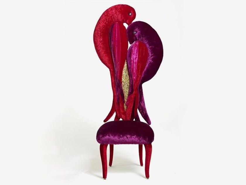 High-back chair PARFAIT AMOUR - Sicis
