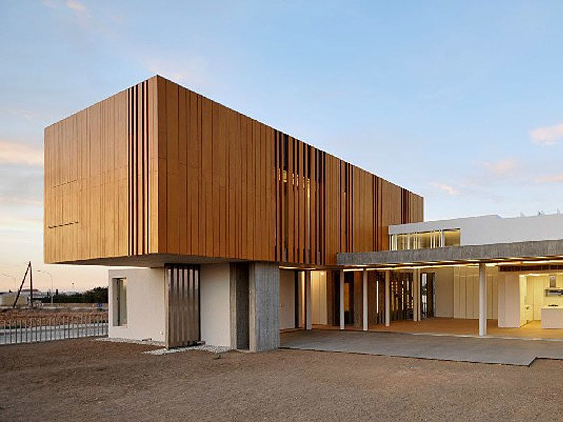 Pannello in legno per facciate parklex facade   kalikos