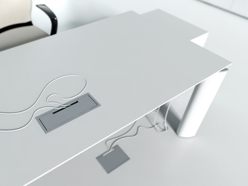 Workstation desk CRYSTAL | Workstation desk - MDD