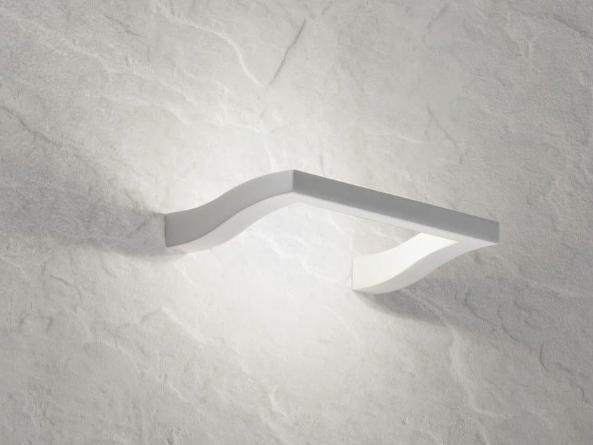 Lampada da parete a led in alluminio cyma   axo light