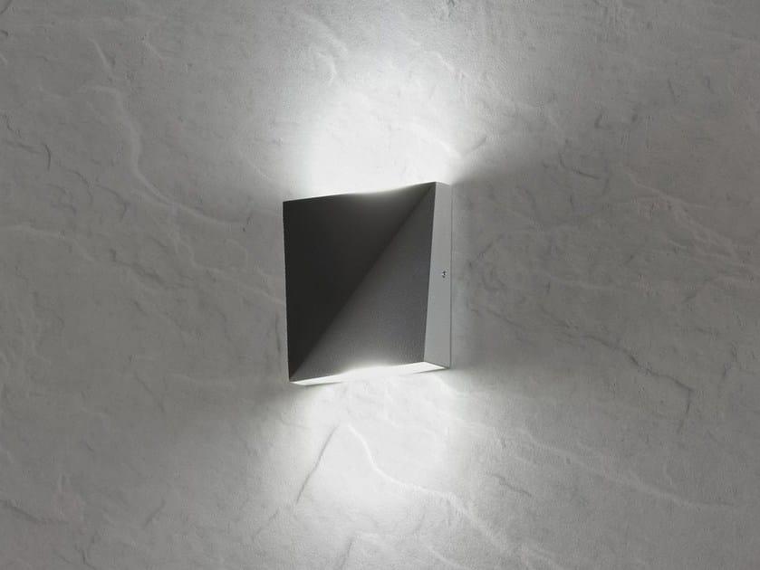 Lampada da parete a led in alluminio dia   axo light