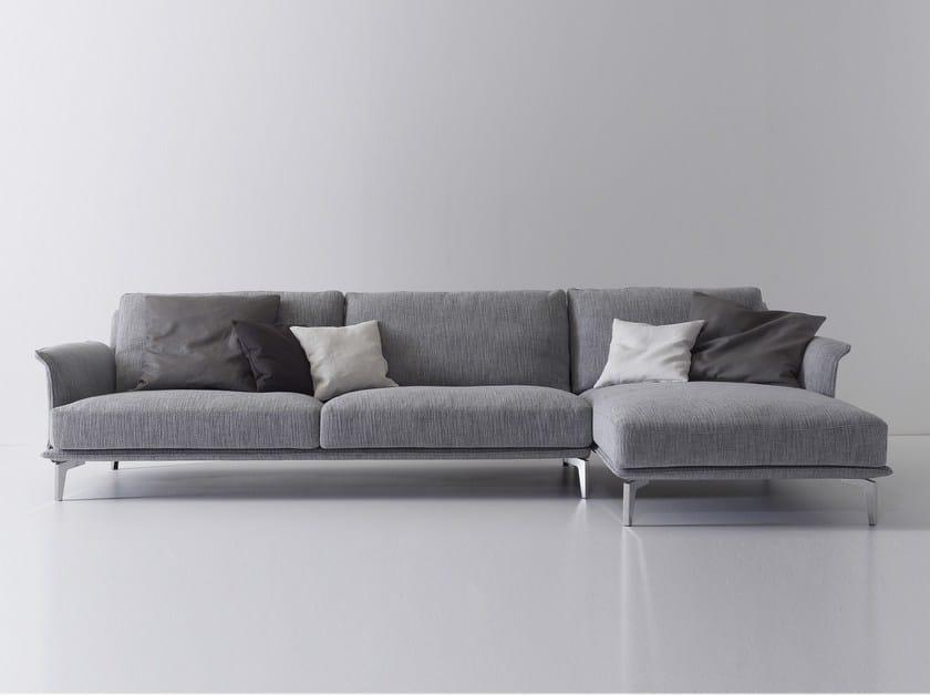 Fabric sofa MAXIM by Nube Italia