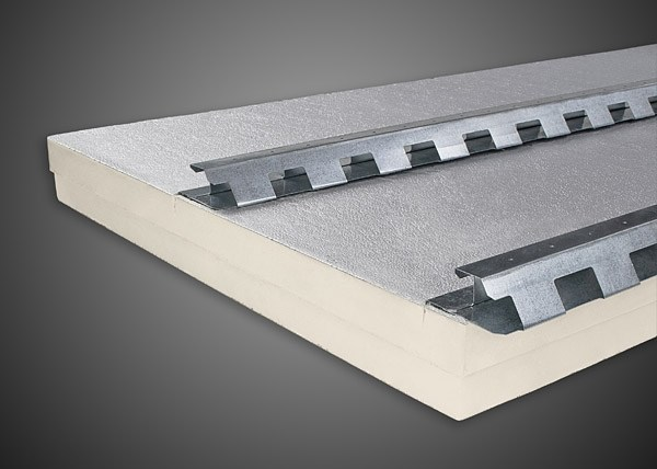 Polyiso foam under-tile system POLIISO® TEGOLA DOPPIO PASSO | Polyiso foam ventilated roof system - Ediltec