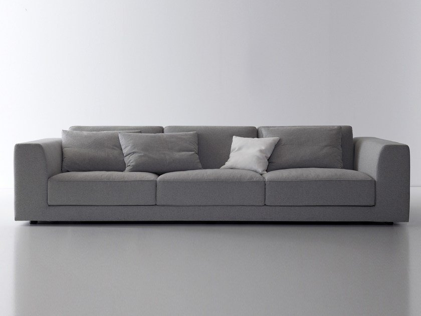 Fabric sofa with removable cover BRYANT by Nube Italia