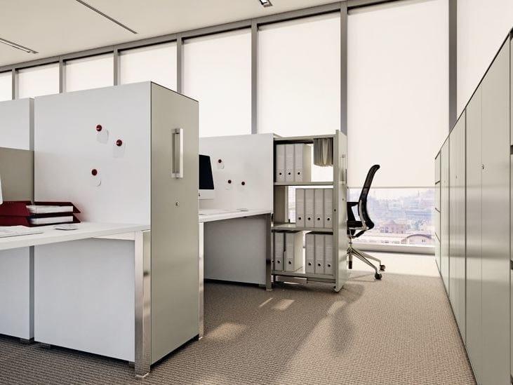 Mobile ufficio basso modulare vertical file dieffebi for Mobile basso ufficio