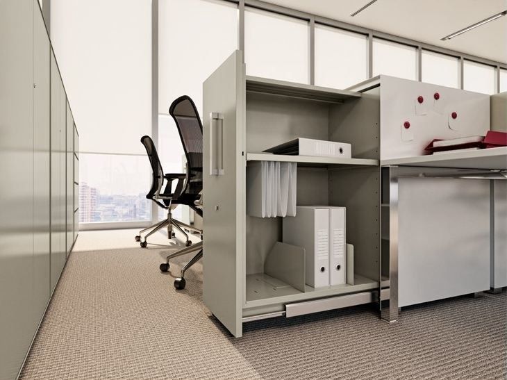 Mobile ufficio basso modulare vertical file collezione for Mobile ufficio basso