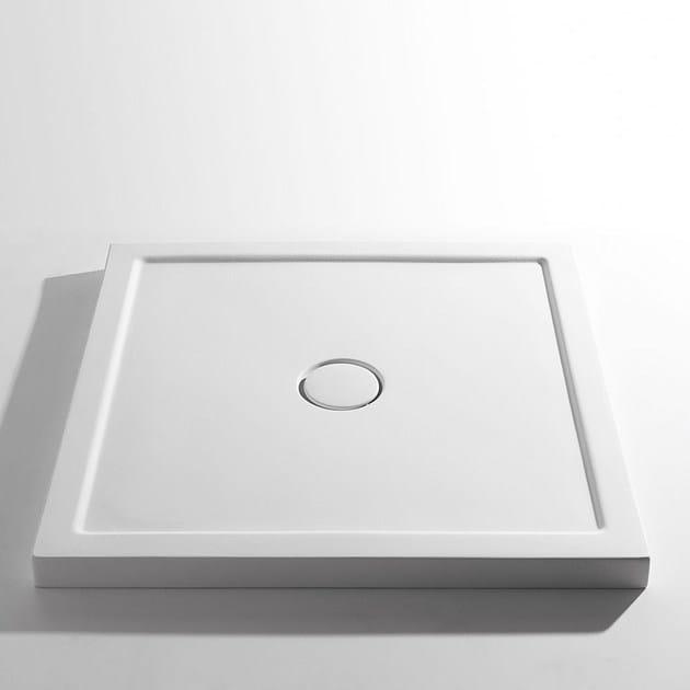 Piatto doccia antiscivolo in ceramica sessanta h6 for Piatto doccia antiscivolo