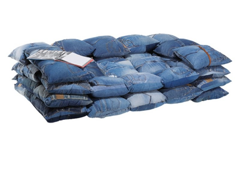 cotton sofa jeans 2 seater sofa jeans collection by kare