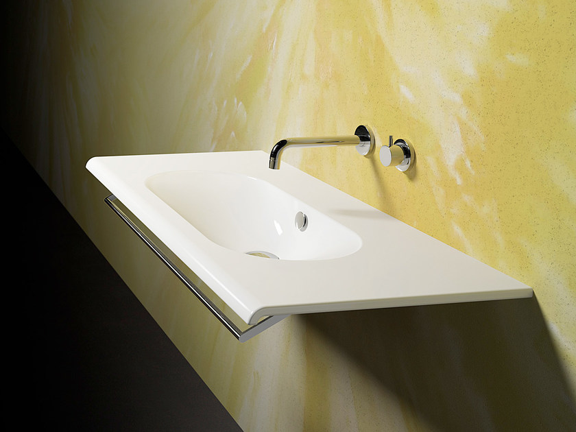 Wall-mounted ceramic washbasin SFERA 100 | Washbasin - CERAMICA CATALANO