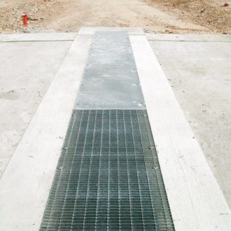 Drainage channel and part D400 MAX by GRIDIRON GRIGLIATI