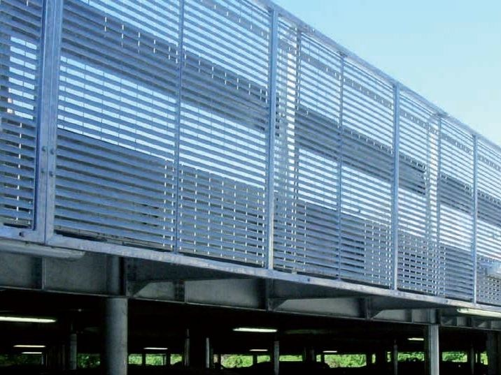 Electrically welded mesh Fence WING - GRIDIRON GRIGLIATI
