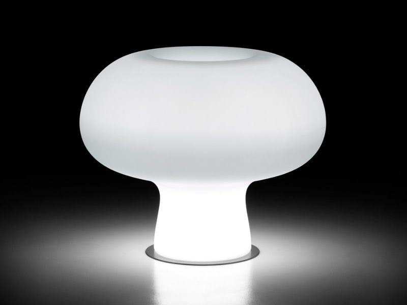 Polyethylene garden vase with Light BOYO LIGHT by Plust