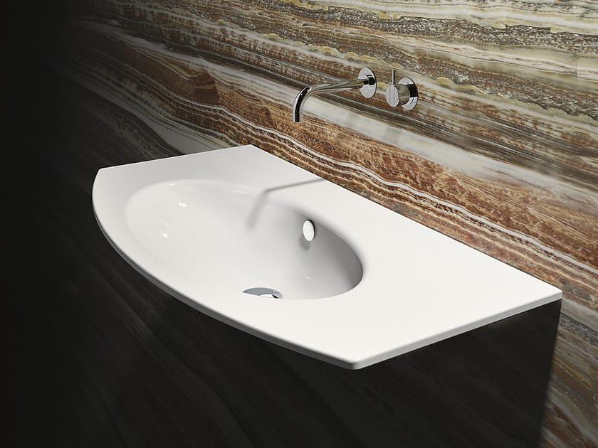 Inset ceramic washbasin VELIS 100 | Washbasin - CERAMICA CATALANO