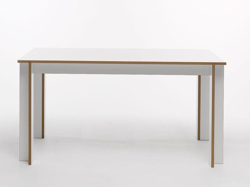 Rectangular MDF table TABLEGROUP   Rectangular table - Tojo Möbel