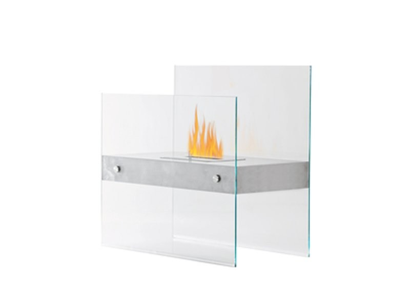 Bioethanol double sided open fireplace fireplace tepore for Double sided open fireplace