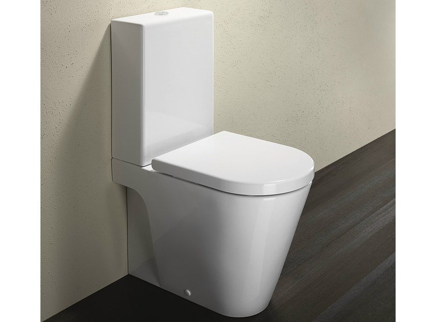 Close coupled ceramic toilet ZERO 62 | Toilet - CERAMICA CATALANO