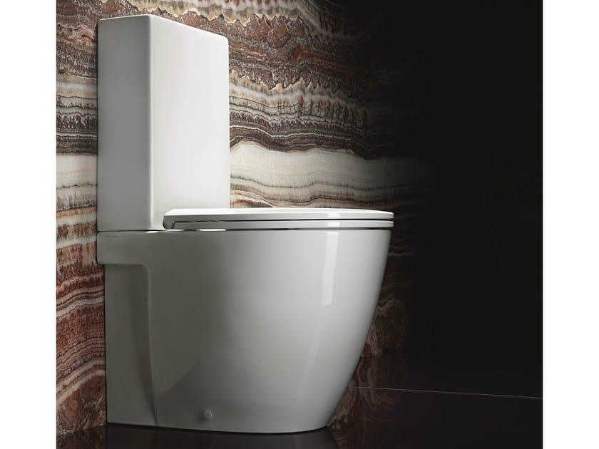Close coupled ceramic toilet VELIS 62 | Toilet - CERAMICA CATALANO
