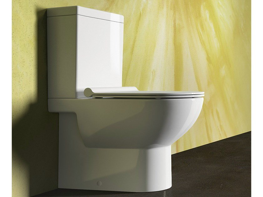Close coupled ceramic toilet SFERA 63 | Toilet - CERAMICA CATALANO