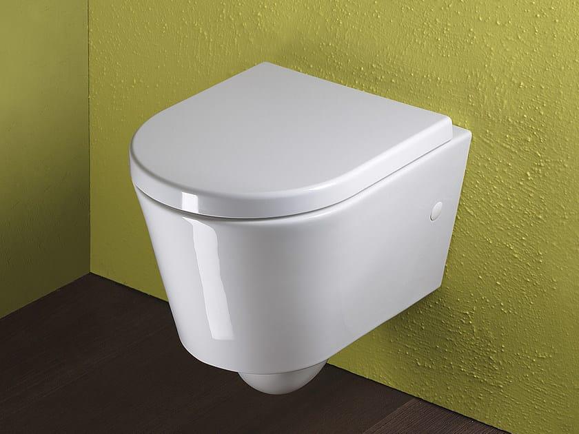 Wall-hung ceramic toilet ZERO 45 | Toilet - CERAMICA CATALANO