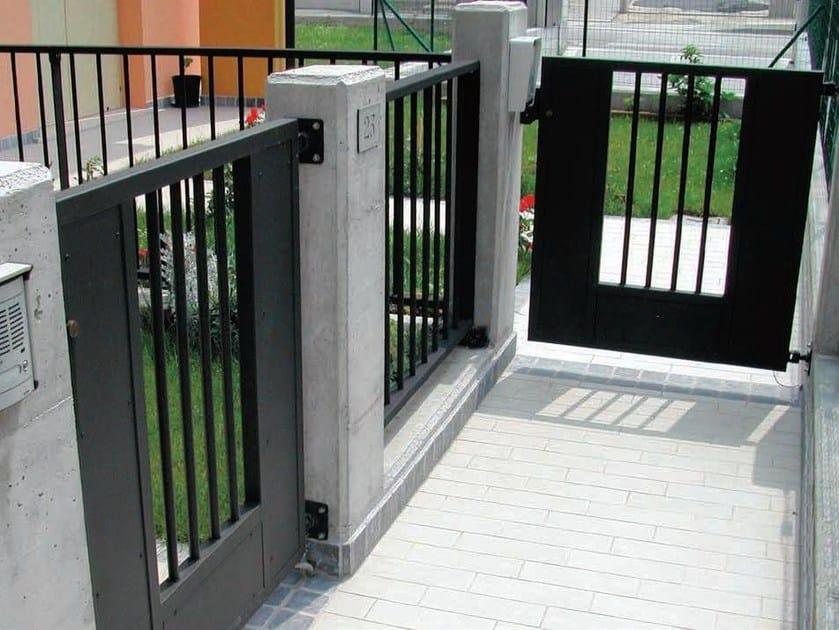 Modular galvanized steel Fence STYLE - GRIDIRON GRIGLIATI