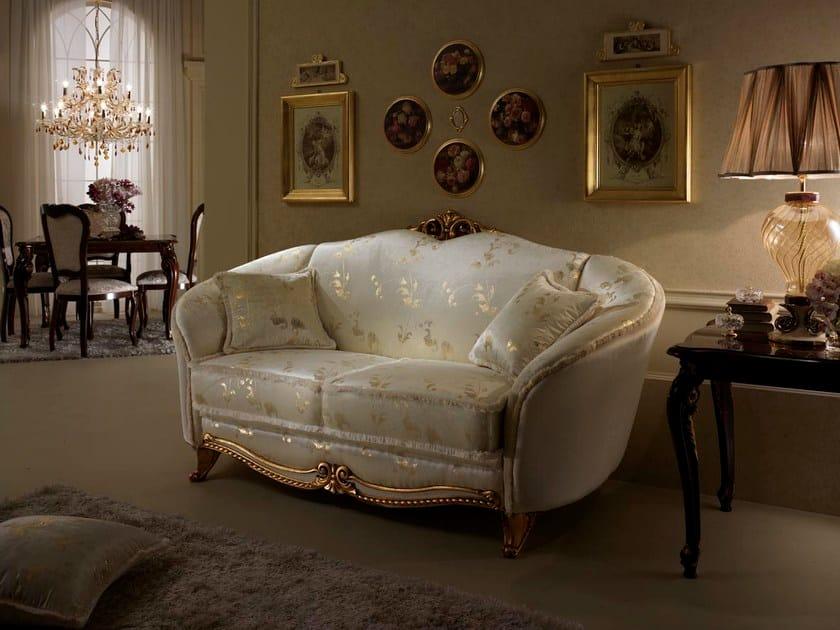 Classic style 2 seater sofa DONATELLO   2 seater sofa - Arredoclassic