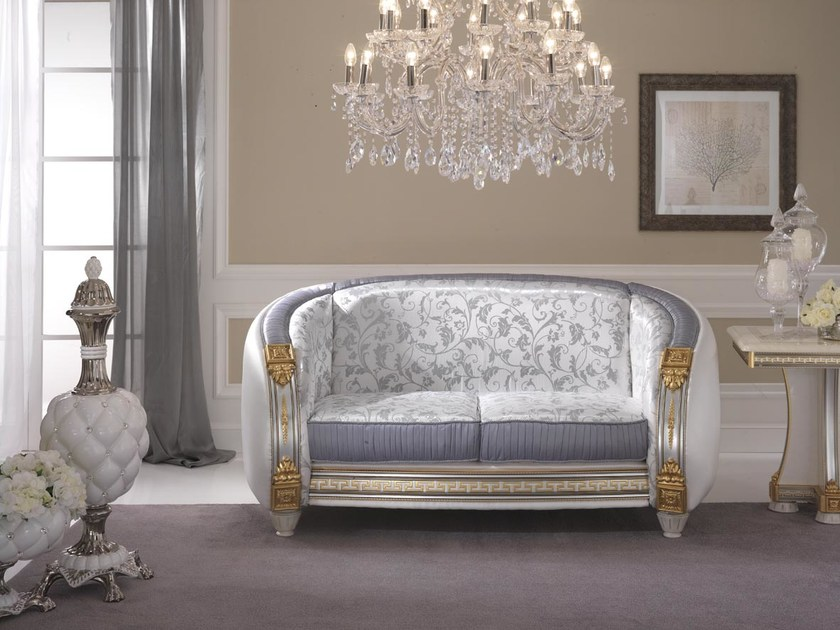 Art Nouveau 2 seater sofa LIBERTY | 2 seater sofa - Arredoclassic