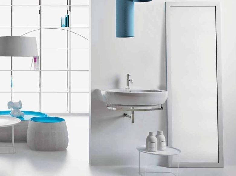 Easy bath lavabo suspendido by ceramica cielo for Sanitarios easy catalogo