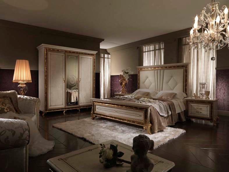 camera da letto in stile classico collezione raffaello by