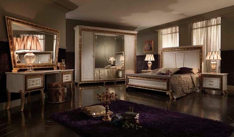 Camera da letto in stile classico raffaello camera da - Camera da letto stile classico ...