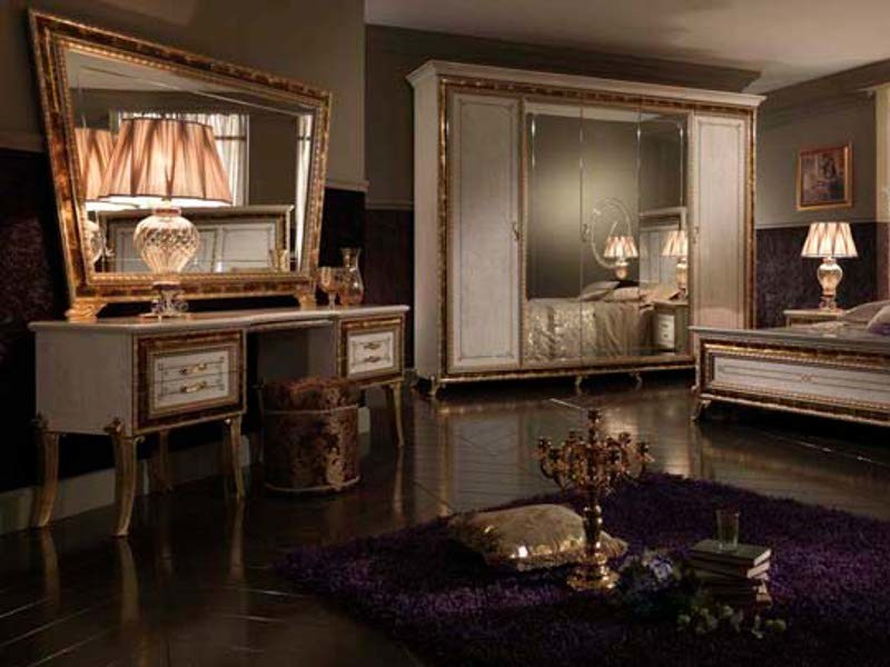 Classic style wooden dressing table RAFFAELLO | Dressing table - Arredoclassic