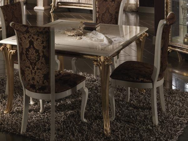 Classic style high-back upholstered chair RAFFAELLO | Chair by Arredoclassic