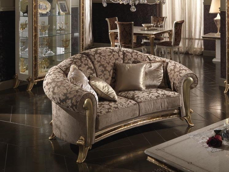Classic style 2 seater sofa RAFFAELLO | 2 seater sofa by Arredoclassic