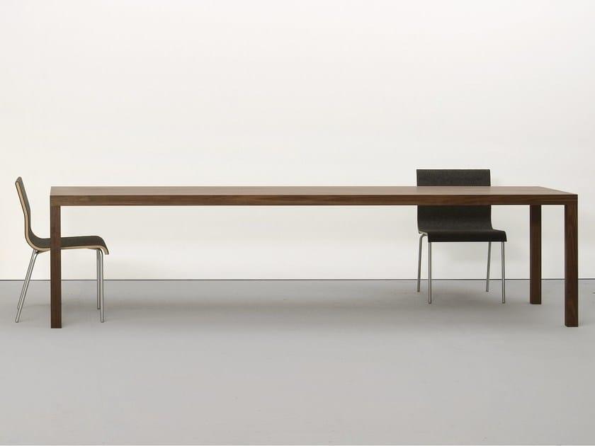 Solid wood table DINAVIER - Sanktjohanser